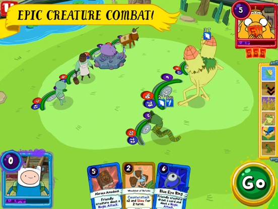 Card Wars Kingdom tablet App screenshot 2