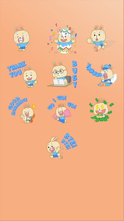 LIttle Bunny Sticker screenshot-4