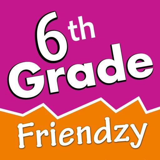 6th Grade Friendzy - Reading, Math, Science iOS App
