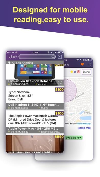 Mobile Pro for Craigslist - 二次取引、ホームケア、仕事のスクリーンショット4