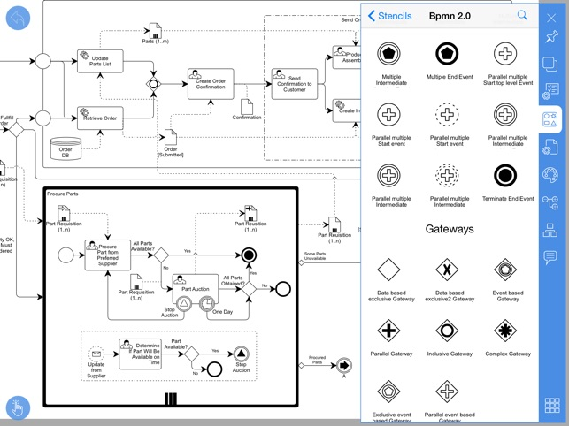 Diagram flow chart on the app store ipad screenshots ccuart Image collections