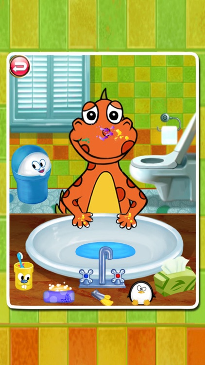 Dino Bath & Dress Up -FREE games for girls & boys
