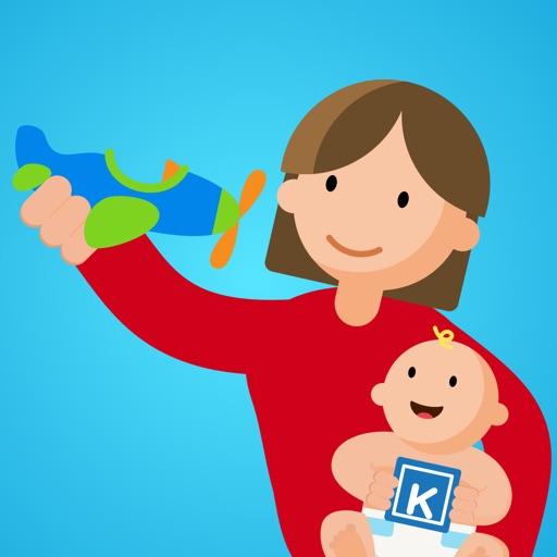 Kinedu | Baby Development Activities & Milestones app logo