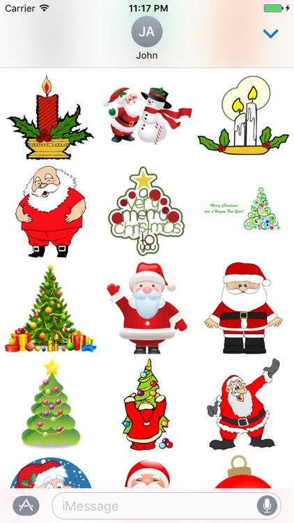 Christmas Sticker Pack+