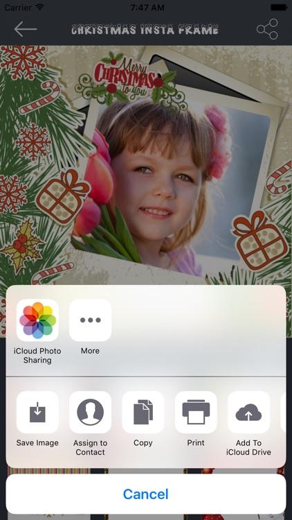 Christmas Insta Frame screenshot-4