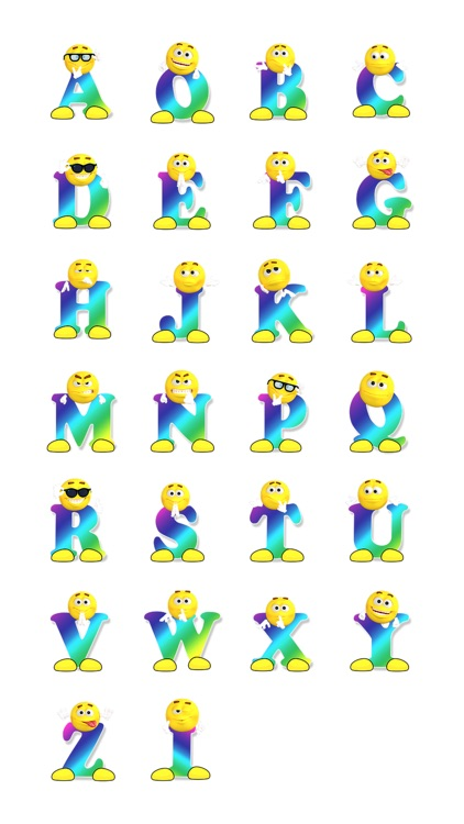 More Alphabets One Sticker Pack