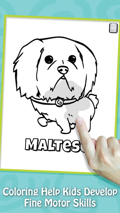 Paint & Play Dogs, Coloring Book For Kids screenshot-3