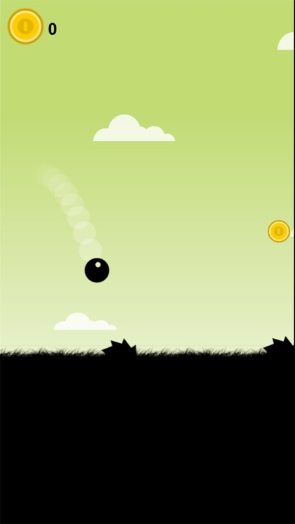 Falling Ball Black - game of skill
