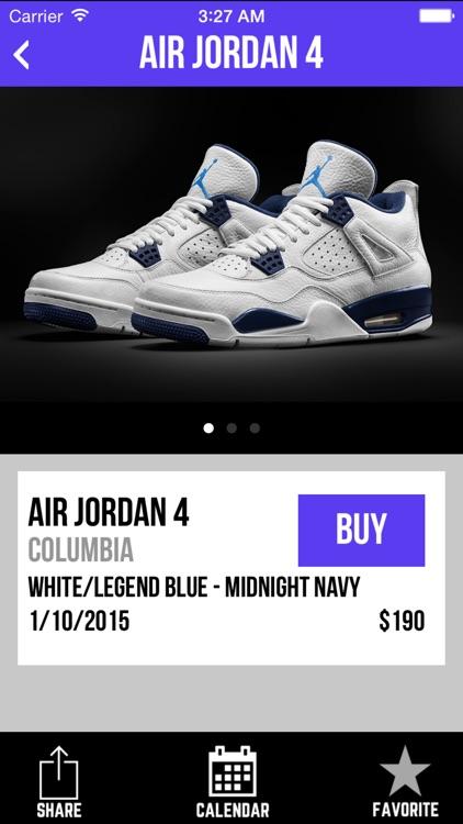 Sneaker Crush - Air Jordan & Nike Release Dates
