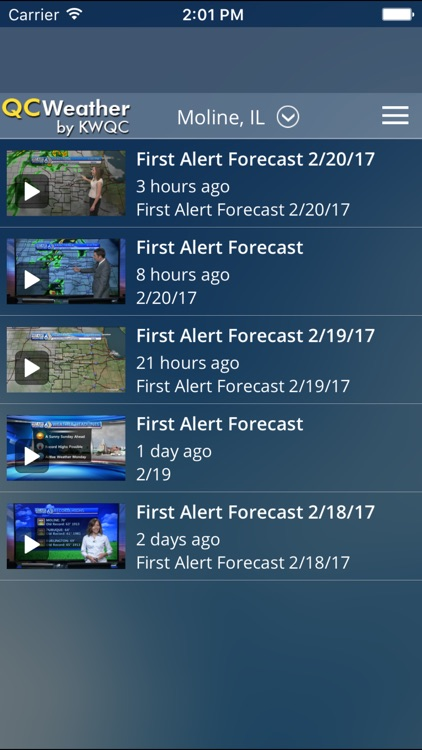 QCWeather - KWQC-TV6 First Alert Weather screenshot-3
