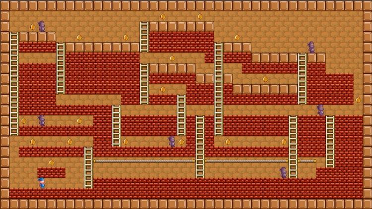 Arcade Lode Runner 2D Platform Adventure Retro Bit