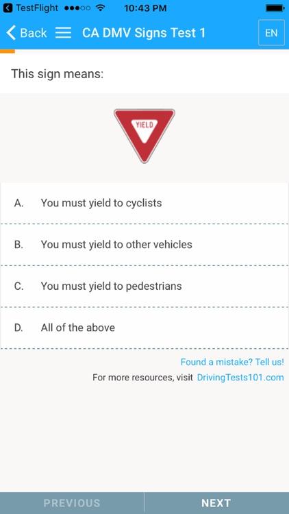 US DMV Driving Tests screenshot-4