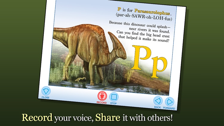 Alphabet of Dinosaurs - Smithsonian Alphabet Books screenshot-3