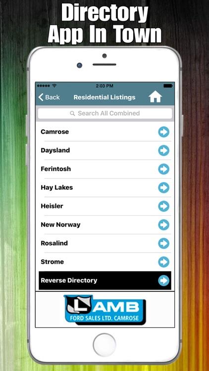 Camrose Directory screenshot-3