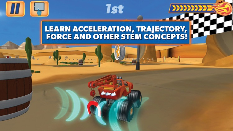 Blaze and the Monster Machines - Racing Game screenshot-3