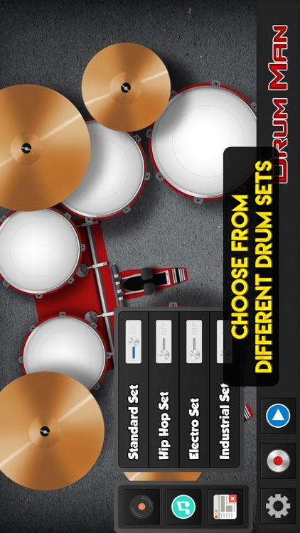 Drum Man - Play Drums, Tap Beats & Make Cool Music screenshot-4