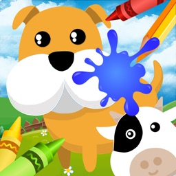 Cute Animal Coloring - Fun artstudio for kids