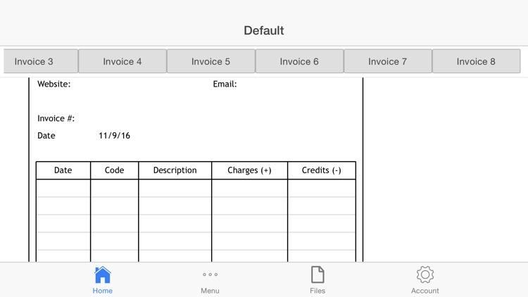 Business Invoice Pro screenshot-3