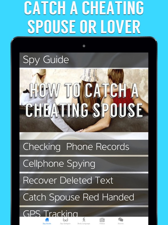 how to catch cheating wife on blackberry