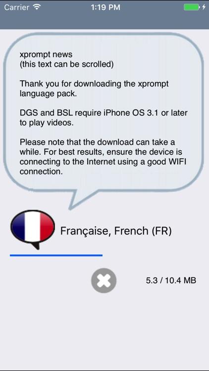 xprompt: multilingual aide screenshot-4