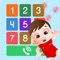 Kids Music Phone is a delightful little app to entertain toddlers to make pretend phone call and sing-along nursery rhymes in call