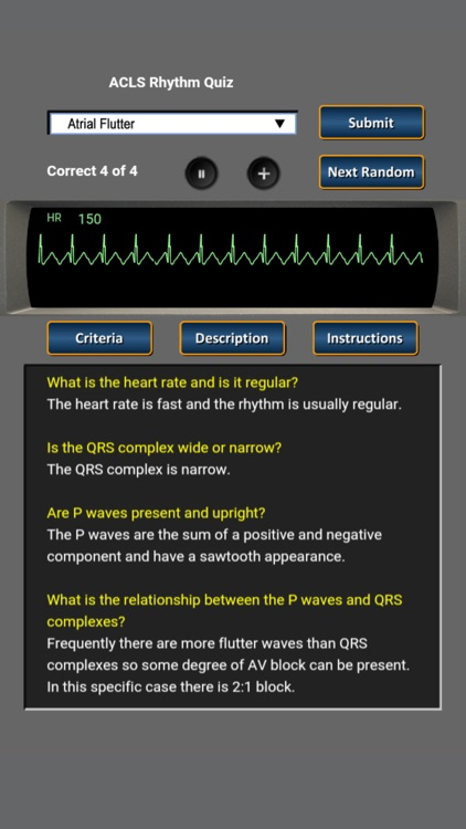 ACLS Rhythm Quiz screenshot-2