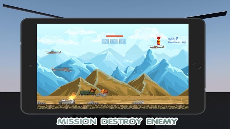 World Helicopter Gunship Air Strike Game screenshot-3