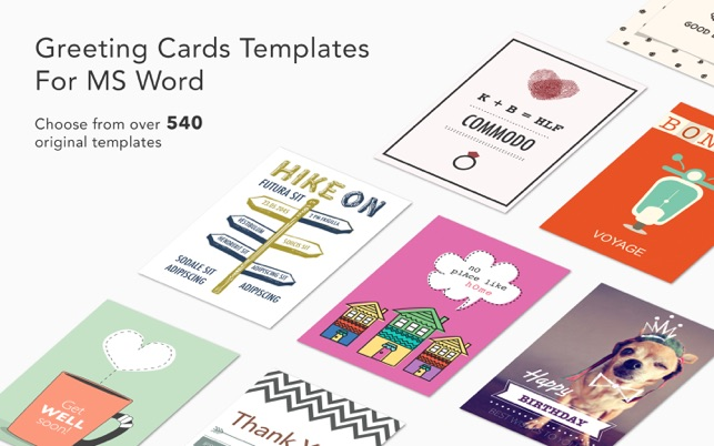 Greeting card expert templates for ms word in de mac for Free greeting card templates for mac