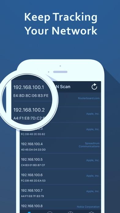Screenshot #5 for Speed Test – Wifi Analyzer & Scan Network Tools
