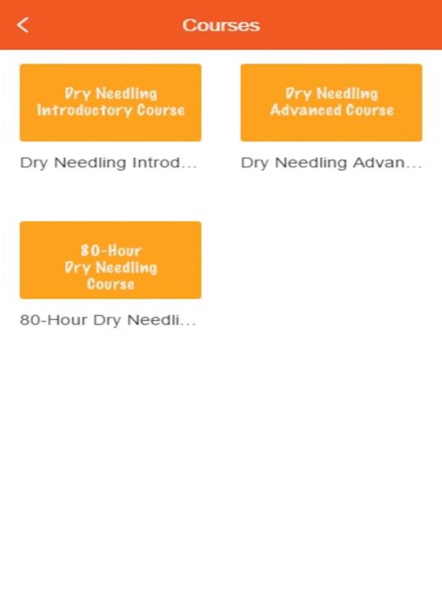 Dry Needling Video Training on the App Store