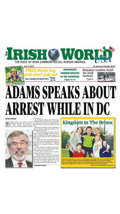 The Irish World Newspaper USA