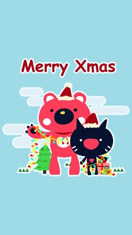 爱心熊-圣诞节
