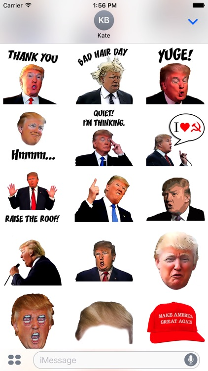Crazy Trump Stickers screenshot-3