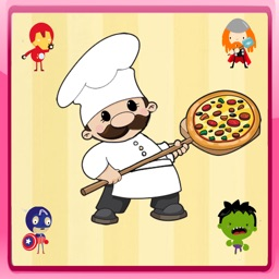 Pizza Maker Super Hero Cooking Game