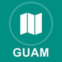 Guam : Offline GPS Navigation