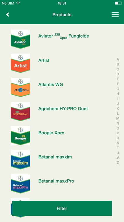 Bayer Agronomy Tool screenshot-2