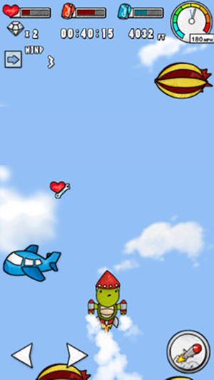 ‎Turtle Fly -  Into Space Screenshot