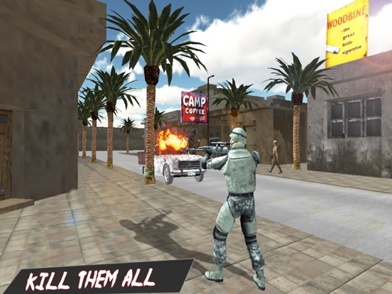 Modern Fatal Commando in Top Ambush 3d screenshot 8