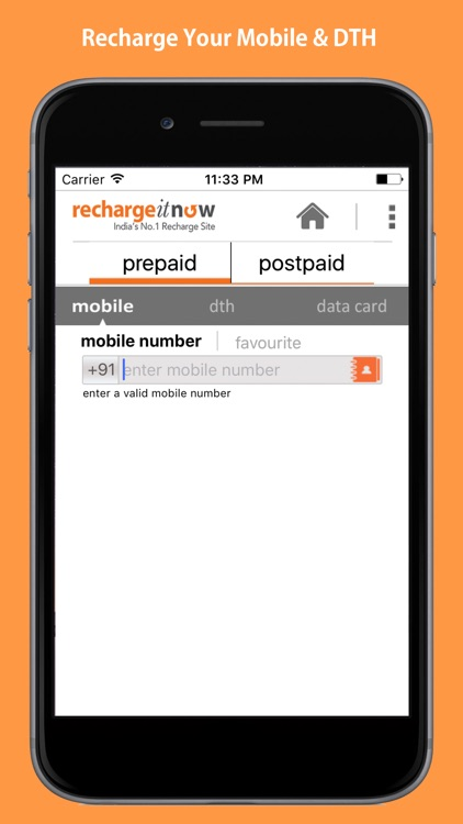 RechargeItNow – DTH & Mobile Recharge App, Plans by ONLINE RECHARGE