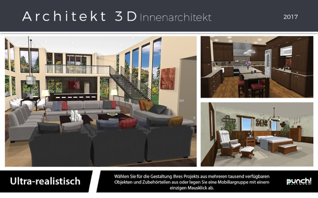 Architekt 3d innenarchitekt 2017 im mac app store for Innenraum design app