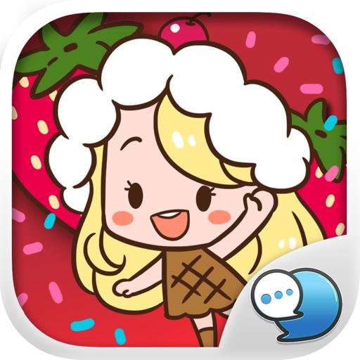 Little Sundae Stickers Emoji Keyboard By Chatstick By Chatstick