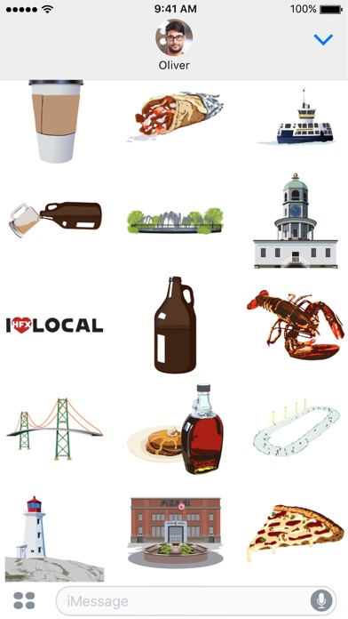 Halimoji - Halifax Sticker Pack screenshot three