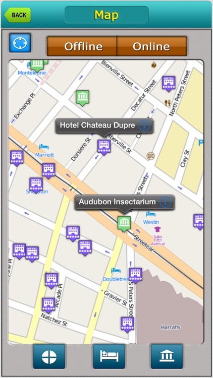 New Orleans Offline Map City Guide
