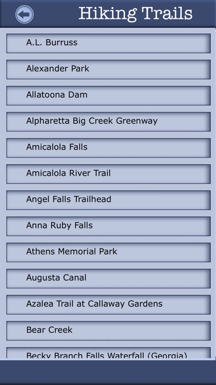 Georgia Camping & Hiking Trails screenshot-2