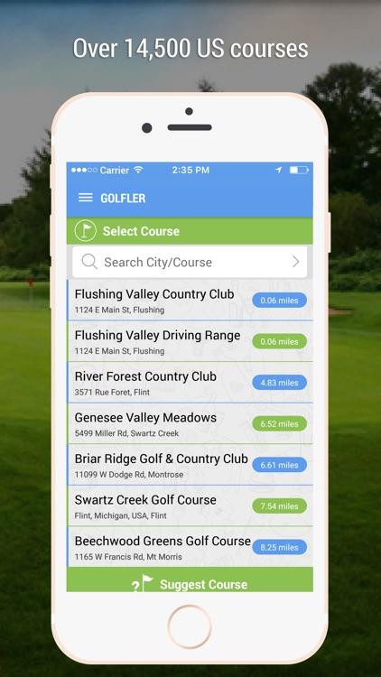 GOLFLER Rangefinder, Scoring & Golf GPS