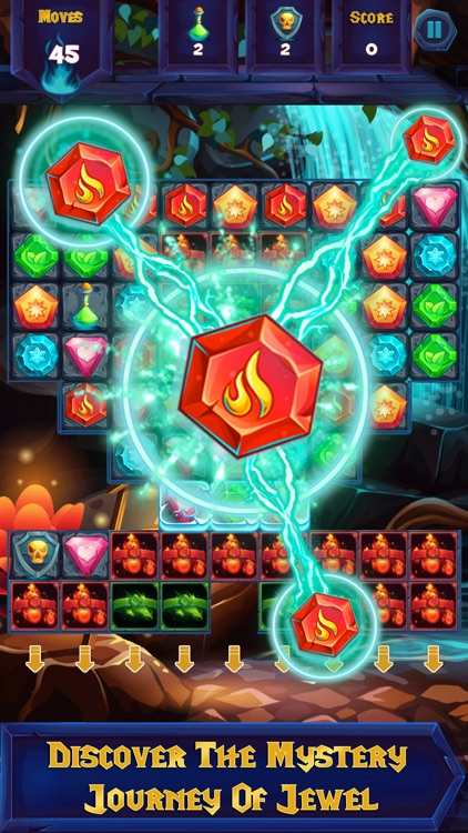 Jewel Mystery - Free match 3 puzzle games