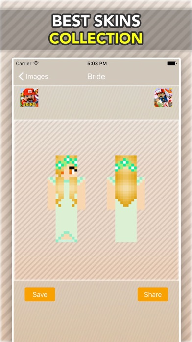 Wedding, Bride and Groom Skins For Minecraft PE-3
