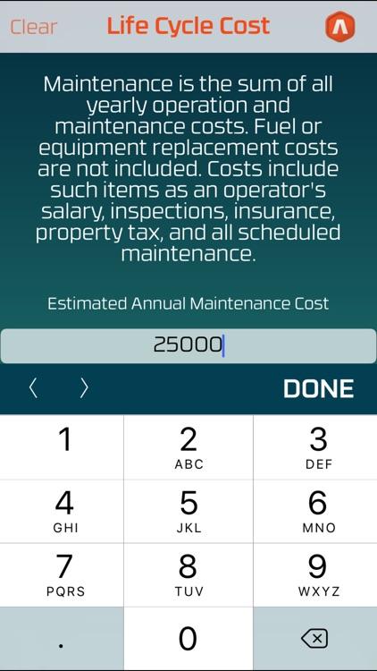 Life Cycle Cost screenshot-3