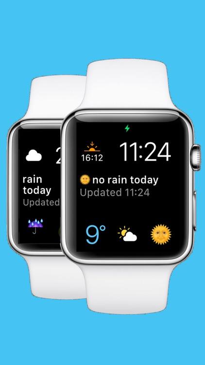 RainFace - Rain Forecast Complication