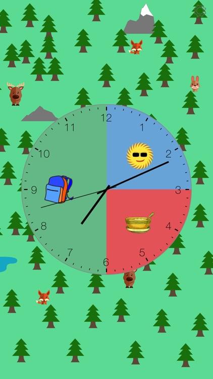 Kids Clock: A Visual Activity Clock for Kids